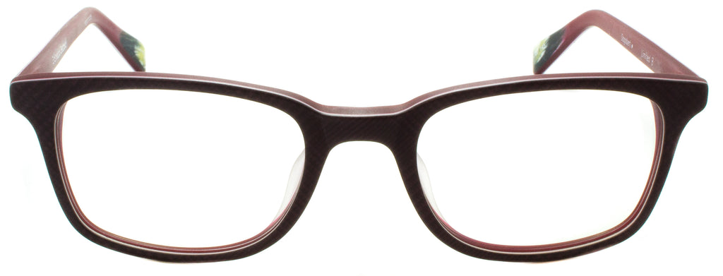 Edward Beiner Collection-Dogbert-999-Limited B - Red Pattern Handmade in Germany by designer sunglasses brand Edward Beiner, available exclusively at Edward Beiner Boutiques. Front view