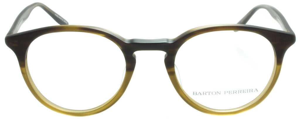 Barton Perreira-Princeton-MTR-Matte Tortuga Gradient . Front view. Designer eyeglasses available exclusively at Edward Beiner Boutiques.