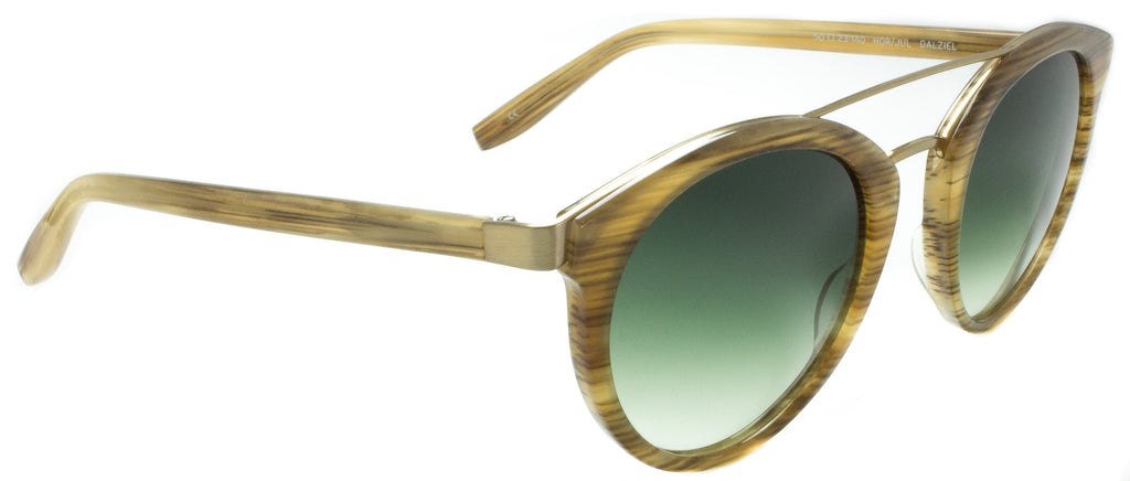 Barton Perreira-Dalziel-HOR/JUL by Barton Perreira designer sunglasses available at Edward Beiner Boutiques. Side view