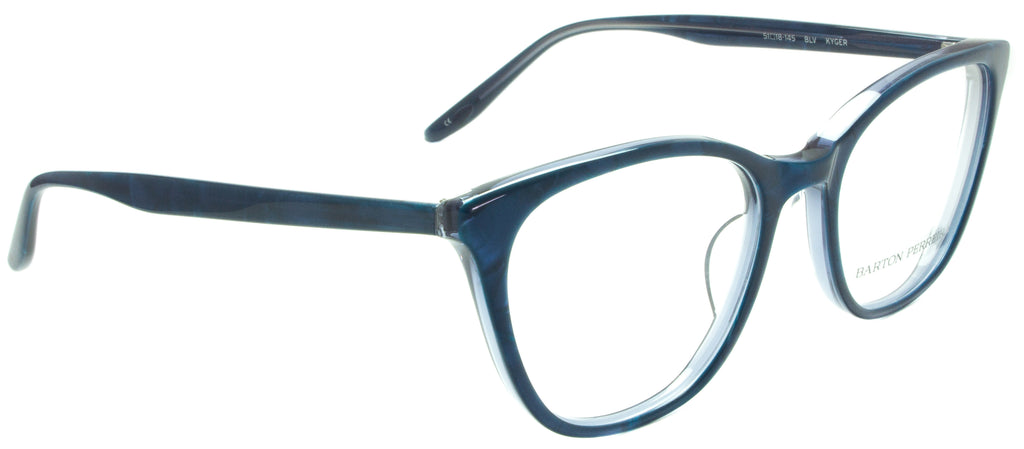 Barton Perreira-Kyger-BLV Side view. Designer eyewear. Available exclusively at Edward Beiner Boutiques.