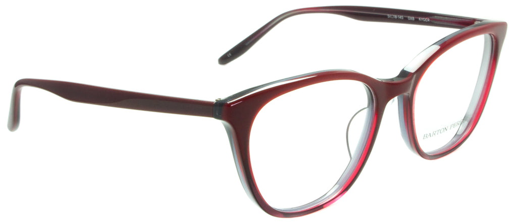 Barton Perreira-Kyger-OXB  Side view. Designer eyewear. Available exclusively at Edward Beiner Boutiques.