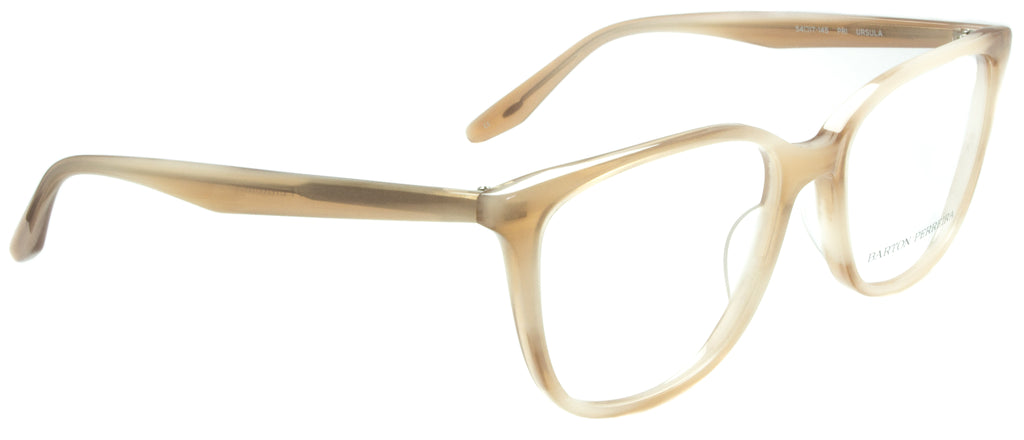Barton Perreira Ursula-PRI . Designer sunglasses handmade in Japanese acetate, available exclusively at Edward Beiner fine eyewear boutiques. Side view.