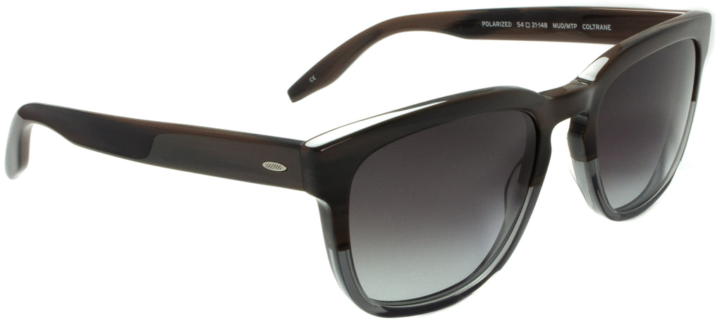 Coltrane-MUD/MTP by eyewear designer Barton Perreira, available at Edward Beiner boutiques, side view