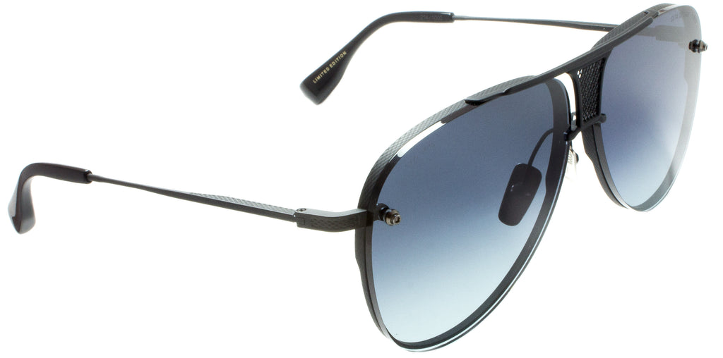 Dita-Decade-Two-DRX-2082-H-BLACK Limited Edition by Dita designer sunglasses available at Edward Beiner Boutiques. Side view
