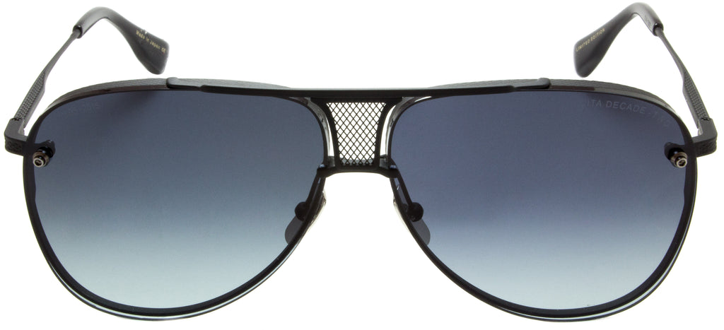 Dita-Decade-Two-DRX-2082-H-BLACK Limited Edition by Dita designer sunglasses available at Edward Beiner Boutiques. Front view