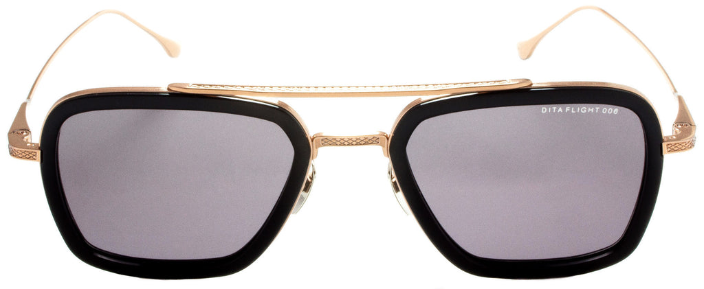 Dita-Flight 006-7806-E-Rose Gold / Back sunglasses handmade in Italy by eyewear designer Dita, available at Edward Beiner Boutiques.