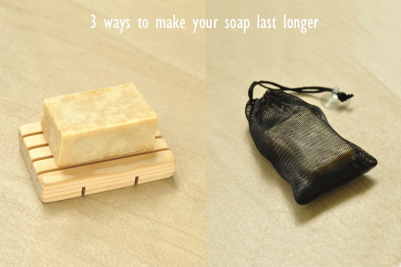 ways to make handmade soap last longer
