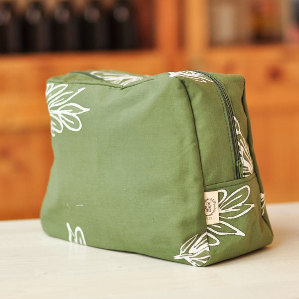 The Olive Tree Batik Cosmetic Bag