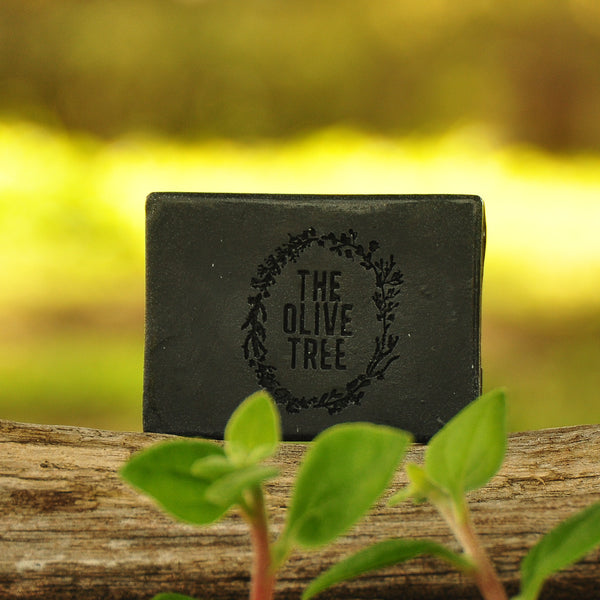activated charcoal cedarwood soap olive coconut oil