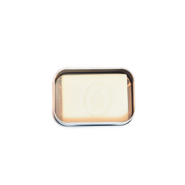 Damask Rose Floral Facial Bar with Travel Tin