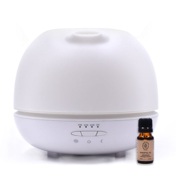 Big Diffuser Set with Lemongrass EO