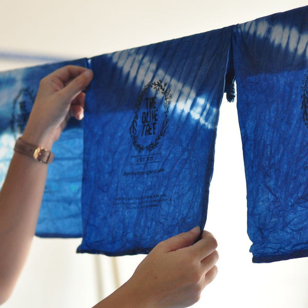 natural indigo dye workshop