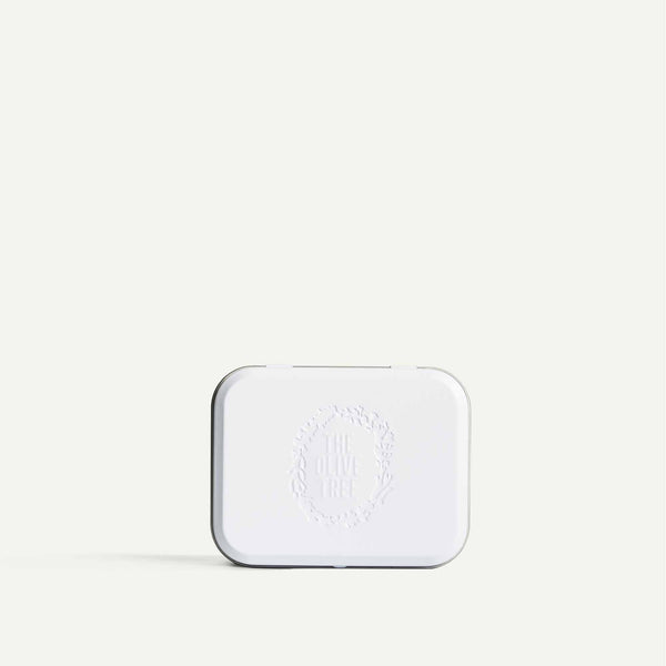 Lightweight Travel Soap Tin in White