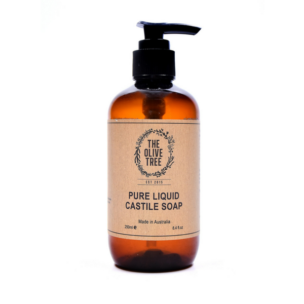 Pure Liquid Castile Soap - 250ml