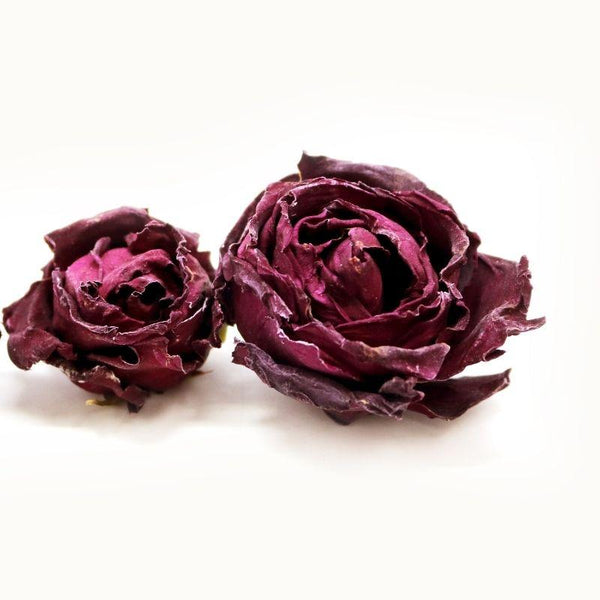 Purple Cane Deep Crimson Roses Herbal Tea