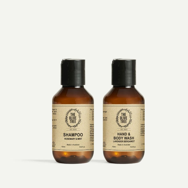100ml Shampoo & Body Wash Travel Set