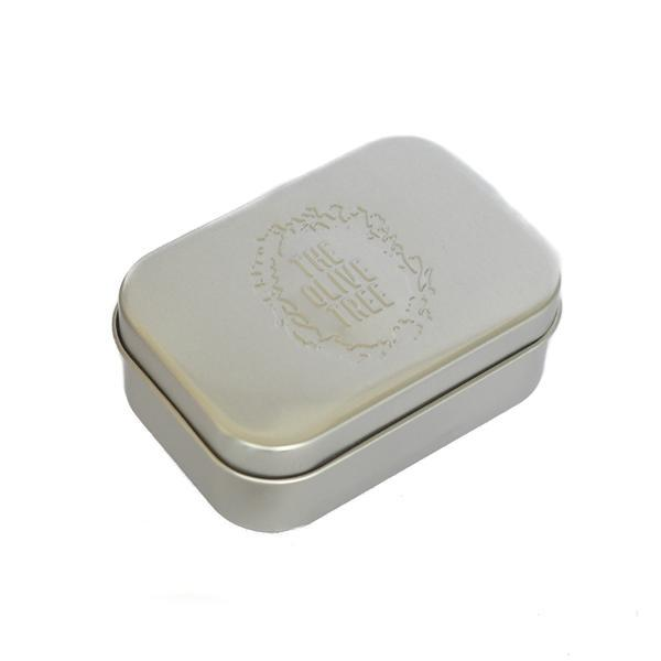 lightweight aluminium travel soap tin to store soap during travel