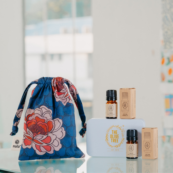Nala Collab: Essential Oil Travel Gift Set