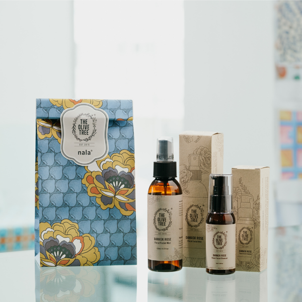 Nala Collab : Mini Facial Travel Gift Set