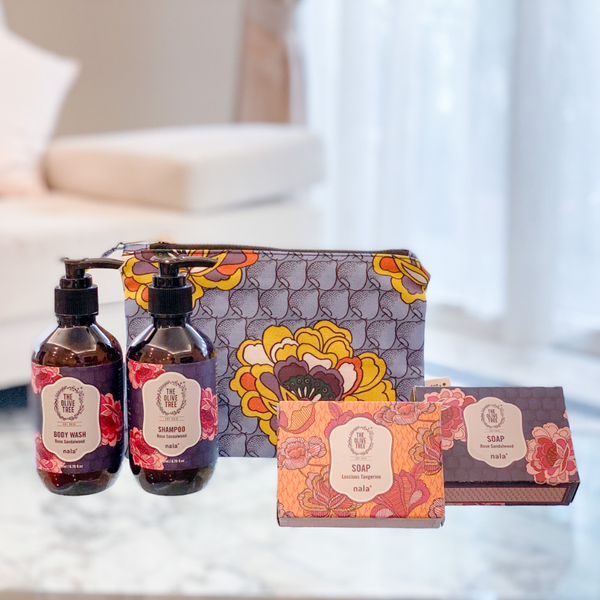 Nala Collab: Rose Sandalwood Essential Gift Set (Pre-order)