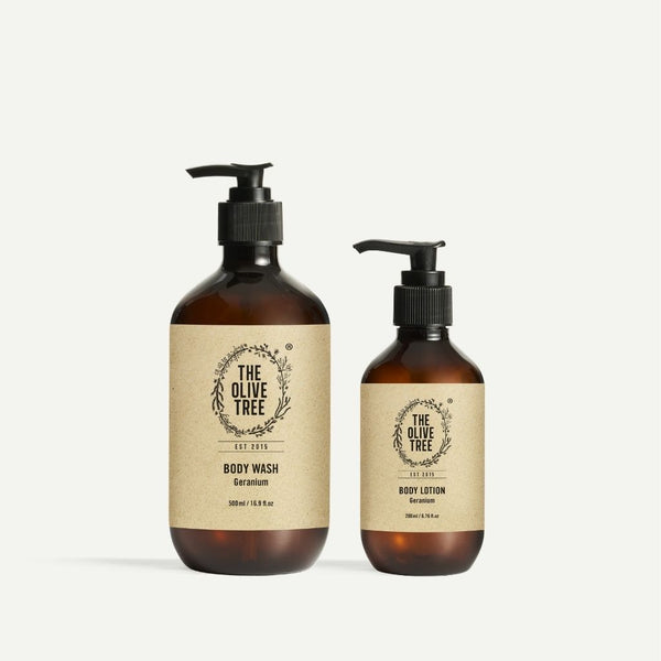 Hand & Body Wash and Body Lotion Set