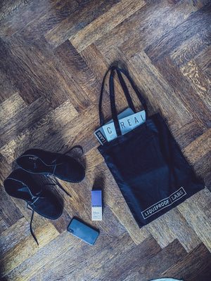 Liquiproof LABS Black Tote Bag