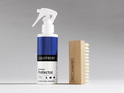 Value kit containing Liquiproof Protector and vegan brush