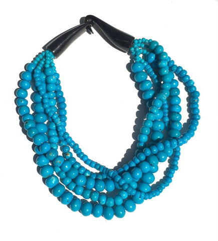 5 Strand Bead Necklace