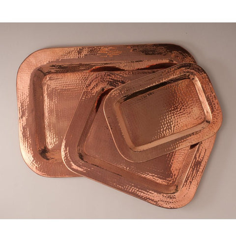 Rectangular and Square Copper Tray