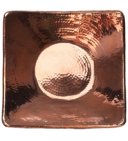 Copper Flat Earth Square Centerpieces