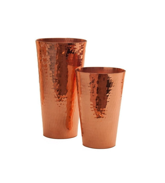 Copper Iced Tea Cups