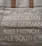 Smile Southern Tote
