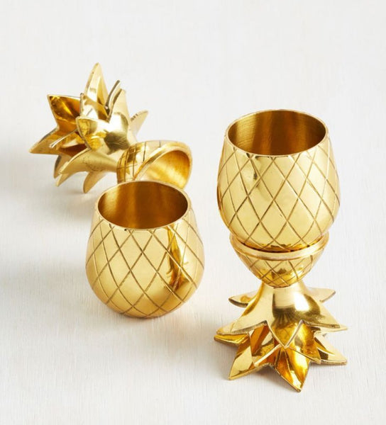 Pineapple Shot Cup Set