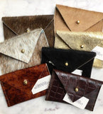 Cow Hide Wallet/Card Holder