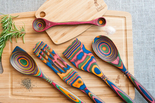 Wood Pakka Corner Spoon