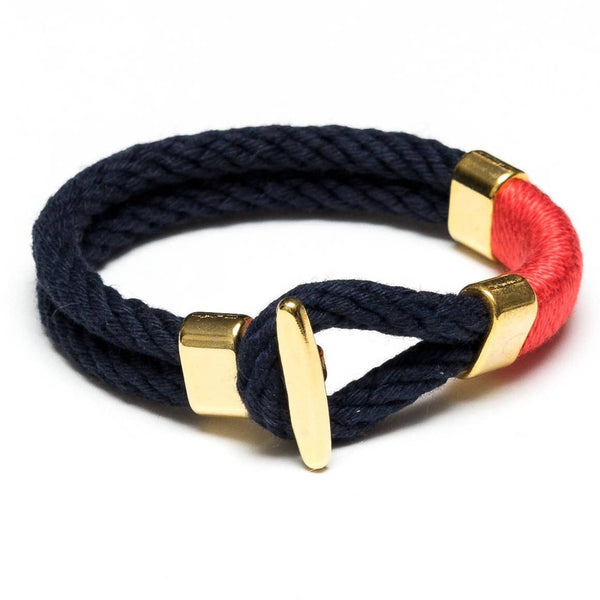 Cambridge Rope Navy/Red/Gold
