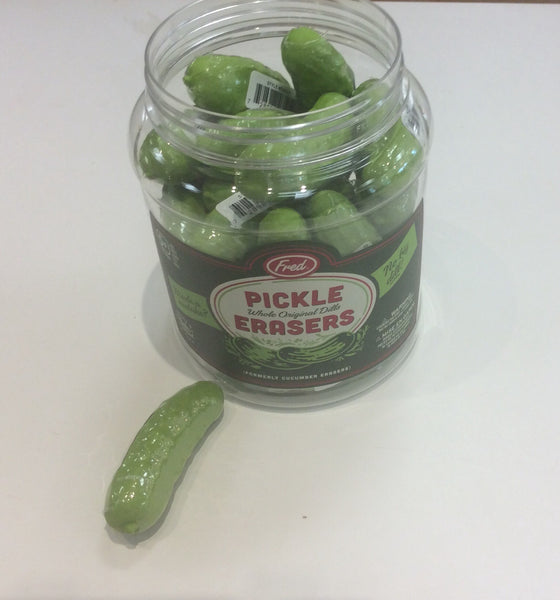 Pickle Erasers