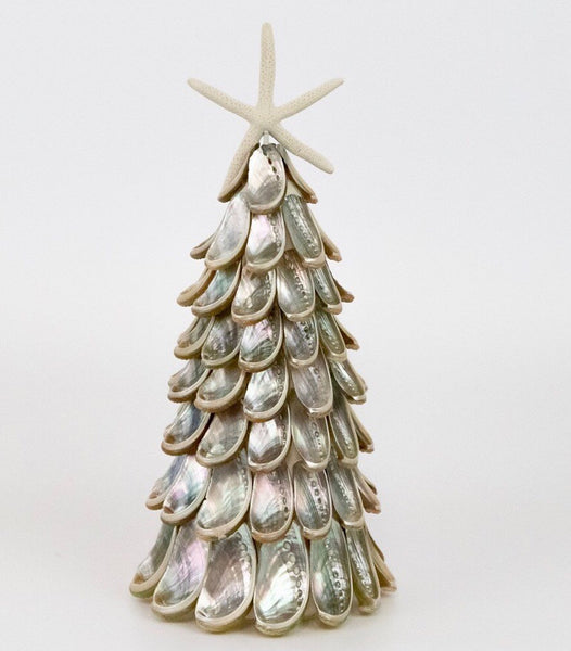 Silver Abalone Seashell Tree