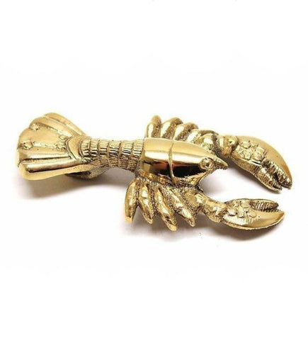 Brass Lobster Opener