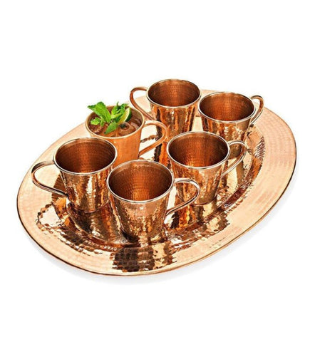 Copper Oprah Set