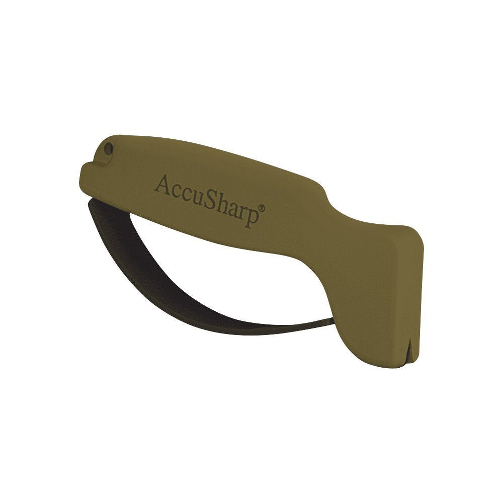 AccuSharp, Model 008, Blade Sharpener, OD Green, Plastic