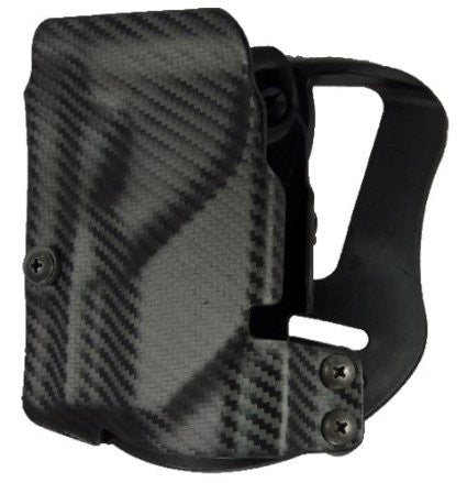 UM Tactical UMH3CR Universal Holster Paddle Attach Right Hand Carbon Fiber