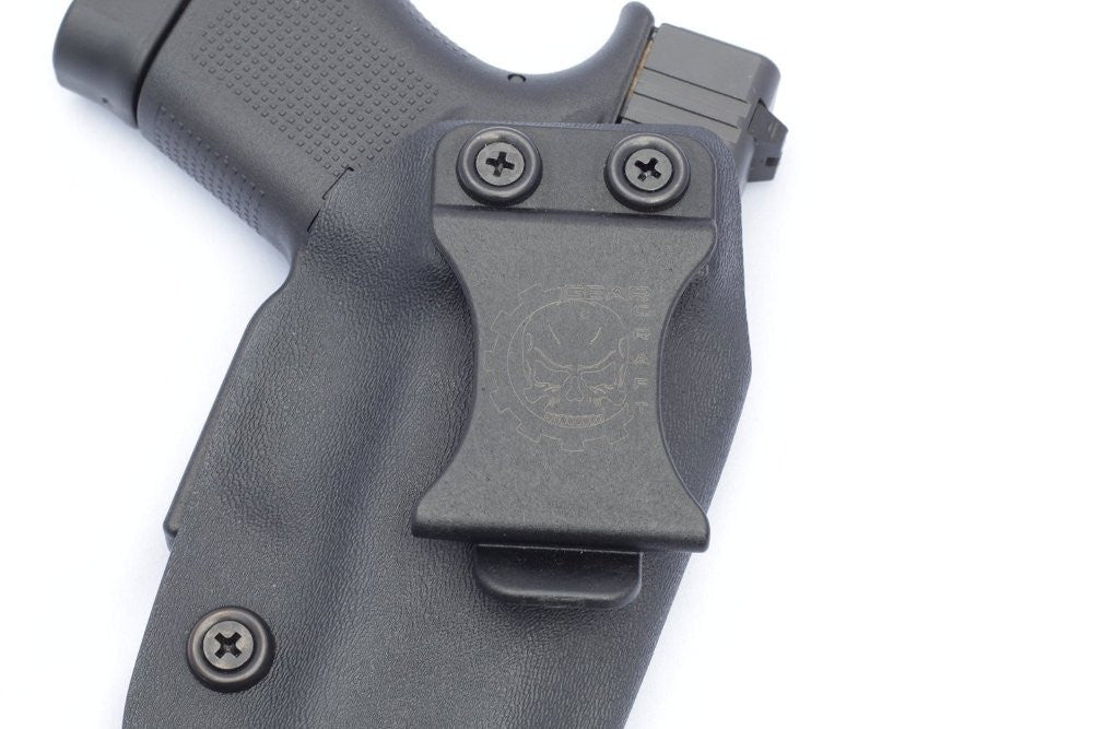 Glock 43 IWB Concealed Carry Adjustable Retention Kydex Holster By Gearcraft Holsters