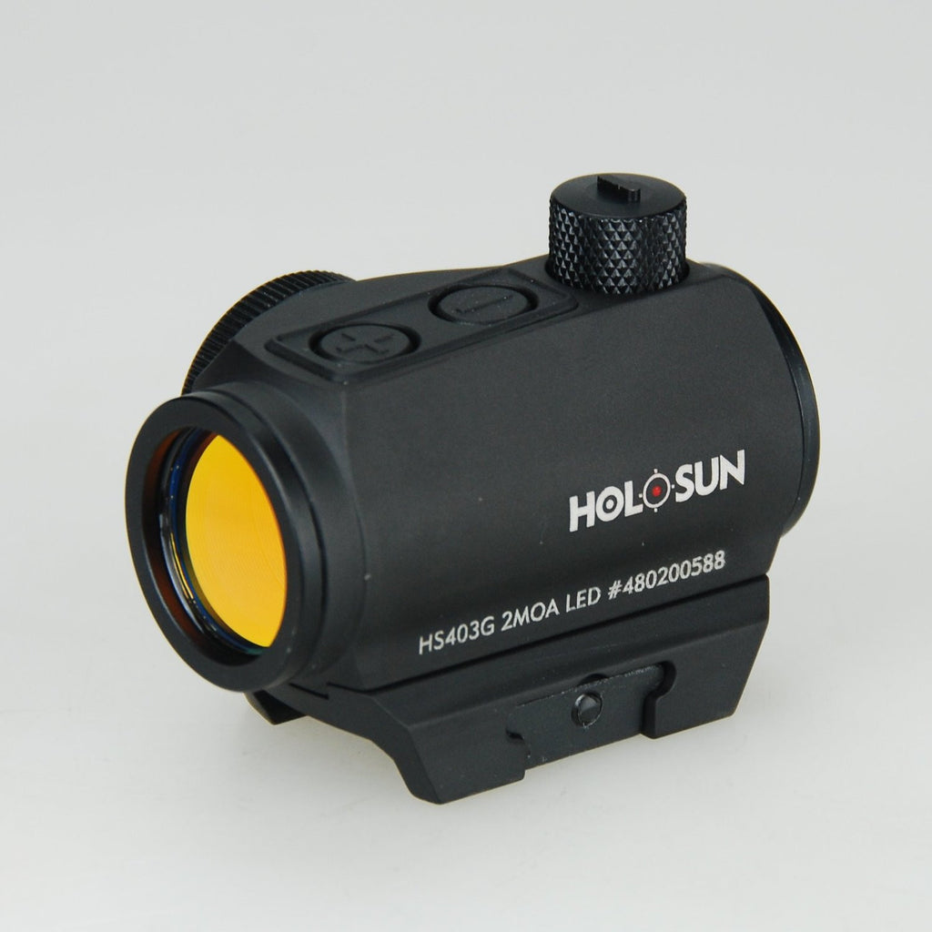 HOLOSUN HS403G Paralow Micro Red Dot Sight with T1 Mount/High E/W Turret