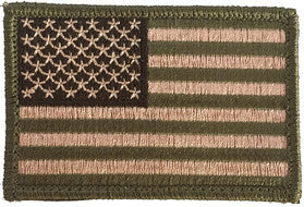 TACTICAL USA FLAG PATCH - MULTITAN - BY 2A TACTICAL GEAR
