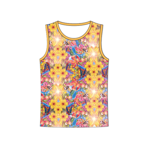 Floral Sublimated Tank Top