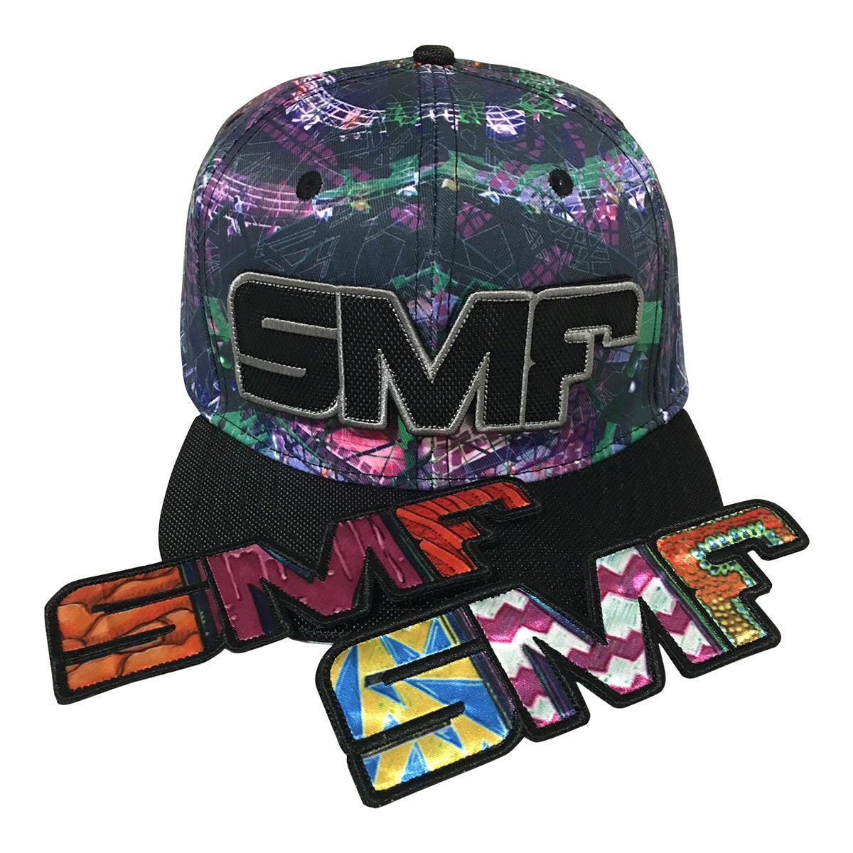 Pre Sale SMF 2017 - Snapback Hat (Patterned) - PICK UP AT EVENT ONLY