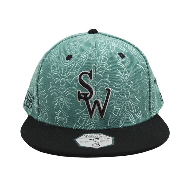 2016 Something Wonderful Snapback (Lime)