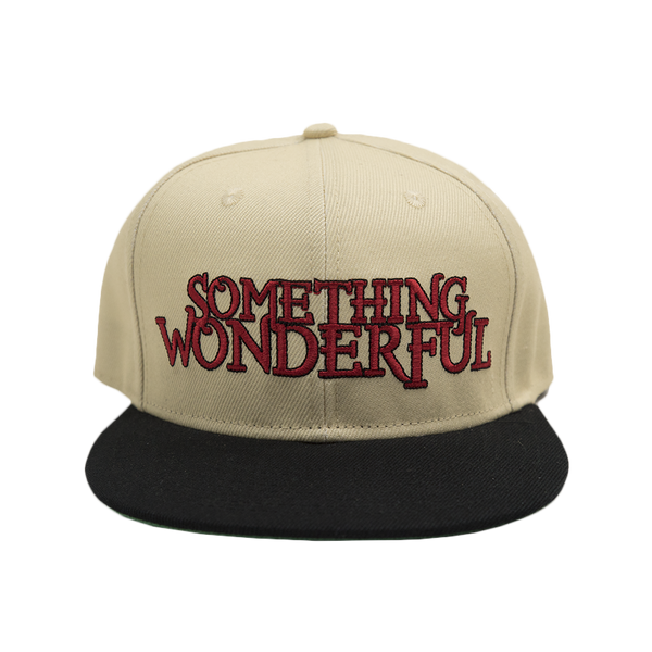 2016 Something Wonderful Snapback (Cream)