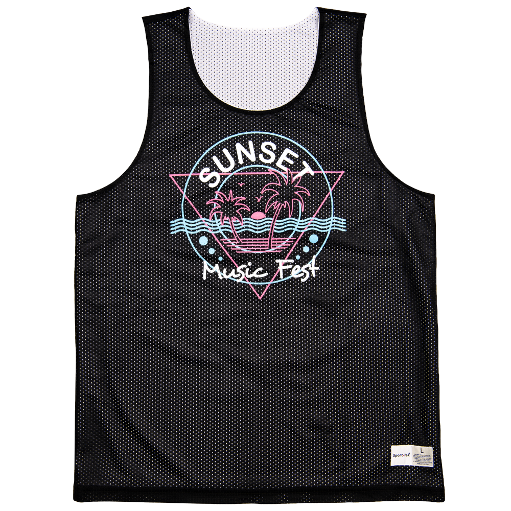 90s Party Jersey (Basketball Jersey)